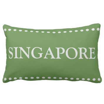 Singapore Lumbar Pillow