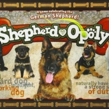 German Shepherd-opoly Board Game