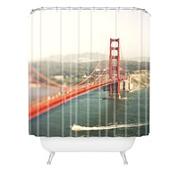 Bree Madden Golden Gate View Shower Curtain