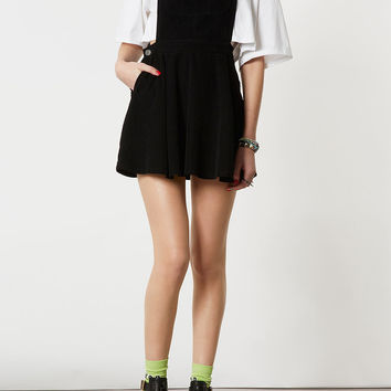 MOTO Black Cord Pini Dress - Pinafore Dresses - Dresses - Clothing - Topshop