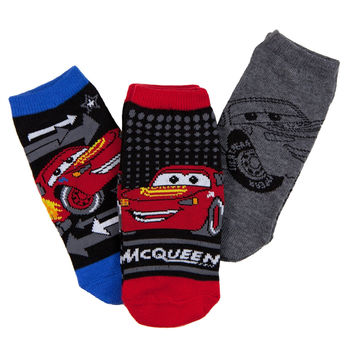 Cars - McQueen Kids Boys Socks 3-Pack