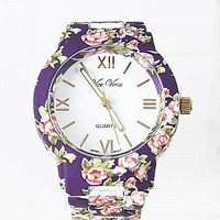 Plum Garden Watch