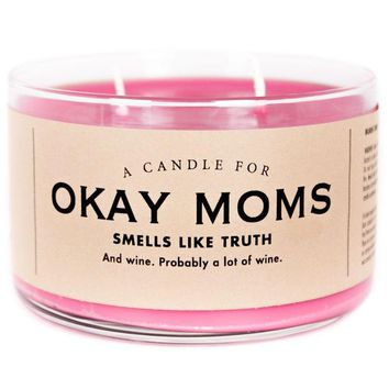 Okay Moms Sippy Cup Wine Scented Candle - Smells Like Truth - PRE-ORDER, SHIPS LATE NOVEMBER!