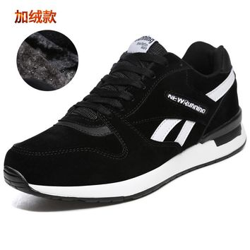 Hot Sell Spring Autumn Men Womens Gym Sneakers Winter Warm Shose Sport for Couples Gray Red Run Shoes Sport Walking