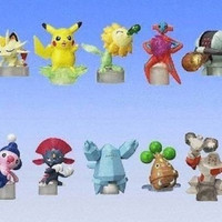 Bandai Gashapon Capsule Pokemon Pocket Monsters AG Technology Machine Waza 04 10 Figure