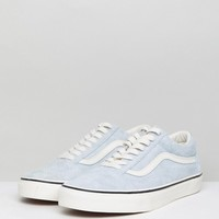 Vans Old Skool Sneakers In Blue VA38G1QVP at asos.com