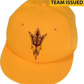 Arizona State Sun Devils Team-Issued Gold Nike Softball Cap - Size 7 - Fanatics Authentic Certified - Other College Game Used Items
