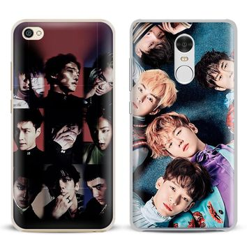 EXO Kpop Boy group Coque Phone Case Shell Cover For Xiaomi Redmi Note 4 4X 5A 6 6A PRO Mi 8 5 5S PLUS Max A1 Note 2 3