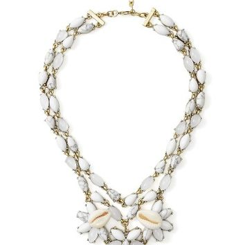 BaubleBar Malana Shell Statement Necklace | Nordstrom