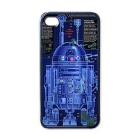 Apple iPhone Case - Star Wars Movie Robot R2D2  - iPhone 4 Case Cover | Merchanstore - Accessories on ArtFire