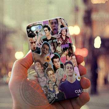 Dylan Obrien Case for Iphone 4, 4s, Iphone 5, 5s, Iphone 5c, Samsung Galaxy S3, S4, S5, Galaxy Note 2, Note 3.