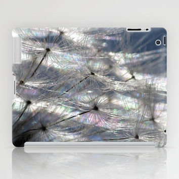 Dandelion Abstract ( Landscape version ) iPad Case by J Coe Photography