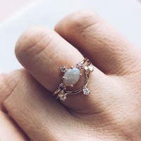 The Petite Royal Stacking Ring Set