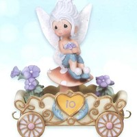 Precious Moments Figurine, Disney Birthday Parade Periwinkle No.10
