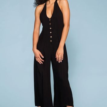Bi-Coastal Jumpsuit - Black