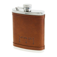 Leather flask - necessary extras - Men's accessories - J.Crew