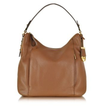 Michael Kors Designer Handbags Bowery Large Leather Shoulder Bag