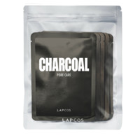 Lapcos -  Charcoal Daily Face Mask -  5 Pack