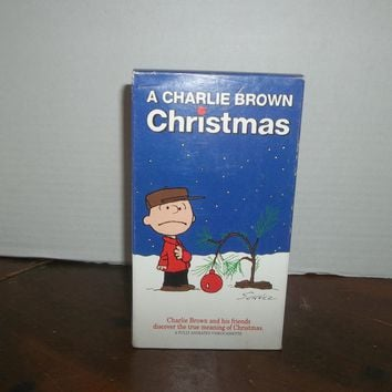 43ea4ca05e vintage peanuts gang a charlie brown christmas video movie vhs c