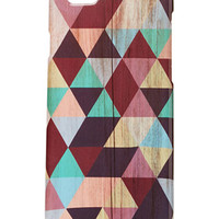 Triangle Print Case for iPhone 6
