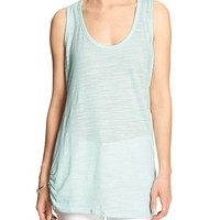 Banana Republic Womens Factory Ruched Tank