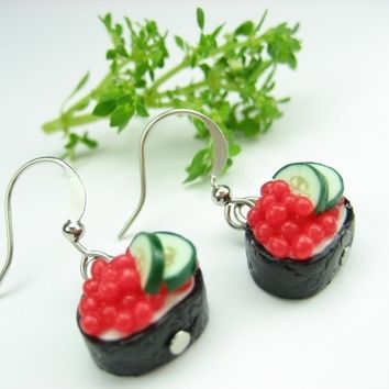 Ikura Sushi Earrings