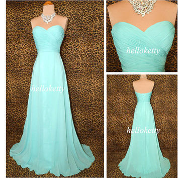 Blue Bridesmaid Dresses,Evening Dresses,Summer Dresses,Formal Dresses,Party Dresses,Maxi Dresses,Long Prom Dresses,Fancy Dresses,GK030