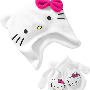 Pop-Culture Character Hat & Mitten Sets for Baby
