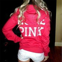 Women Christmas Long Sleeve Hoody Pullover Tops Sweatshirt Jumper Coat