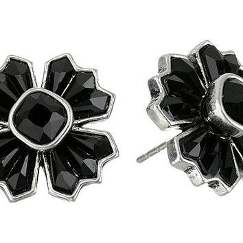 Marc Jacobs Jet Night Cross Studs Earrings
