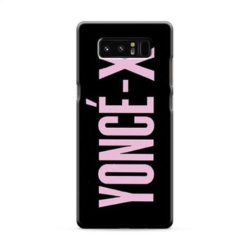 Beyonce Yonce-X Samsung Galaxy Note 8 Case