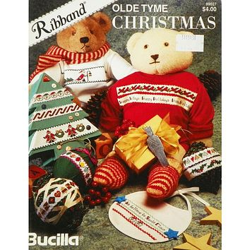 Olde Tyme Christmas - Counted Cross Stitch Leaflet - Bucilla