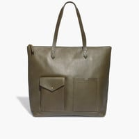 The Zip Transport Tote with Pockets
