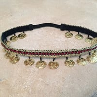 Gypsy Coin Headband