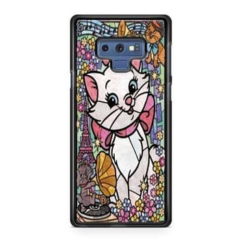 Marie Cat Disney S The Aristocats Stained Glass Samsung Galaxy Note 9 Case | Casefruits
