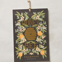 Honeybee 2015 Wall Calendar by Rifle Paper Co. Black One Size Office