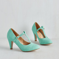 Pastel From A to Chic Heel in Mint by ModCloth