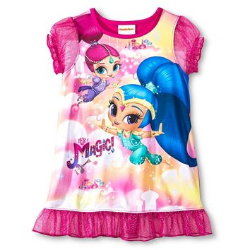 Nickelodeon® Toddler Girls' Shimmer and Shine Nightgown Pink