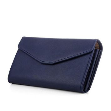 Top Quality Leather Wristlet Women Wallet Female Brand Clutch Multifunction Long Purse Holder Phone/Passport Lady Business Purse
