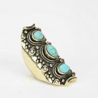 Triple Turquoise Ring - Urban Outfitters