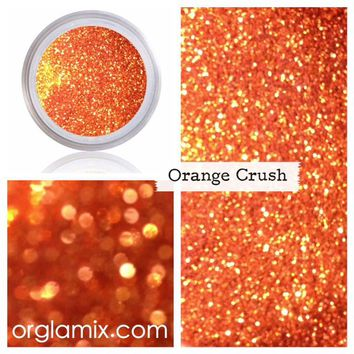 Orange Crush Glitter Pigment