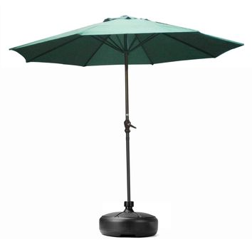 Outdoor Furniture Parasol Garden Umbrella Stand Round Patio Umbrella Bases Foundation Billboard Holder sun shelter accessories