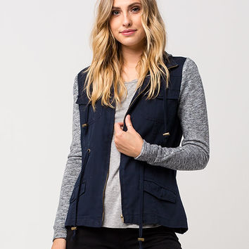 OTHERS FOLLOW Knit Twill Womens Jacket | Jackets