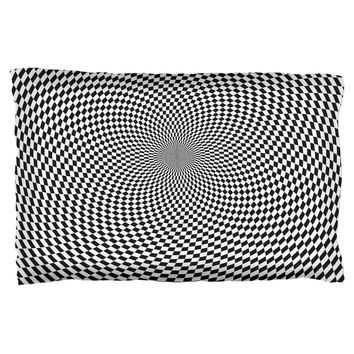 Hypnotic Funny Pillow Case