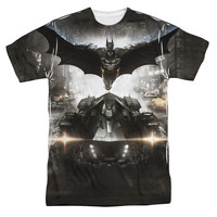 Batman Arkham Knight Poster Sublimation Mens T-Shirt
