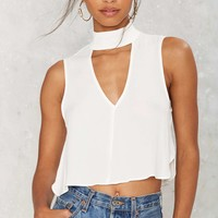 Sweet Mock Crop Top