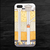 Coal Mine Underground iPhone 4 and 5 Case