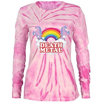 Death Metal Rainbow Juniors Long Sleeve Thermal Shirt