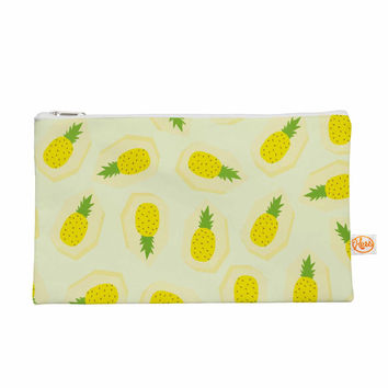 "Strawberringo ""Pineapple Pattern"" Yellow Fruit Everything Bag"
