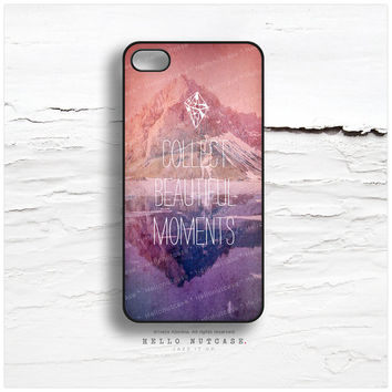 iPhone 5C Case Mountain, iPhone 5s Case Quote, iPhone 4 Case, Crystal Lake iPhone 4s Case, Geometric iPhone Case, Vintage iPhone Cover I103